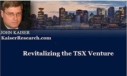 January 23, 2016 :  - Revitalizing the TSX Venutre