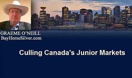 January 19, 2016 :  - Culling Canada's Junior Markets