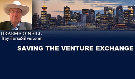 February 6, 2016 :  - Saving The Venture Exchange