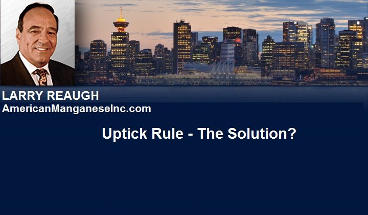 April 9, 2016 :  - Uptick Rule – The Solution?