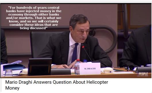 Draghi on QE