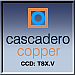 Cascadero Copper Corp. logo