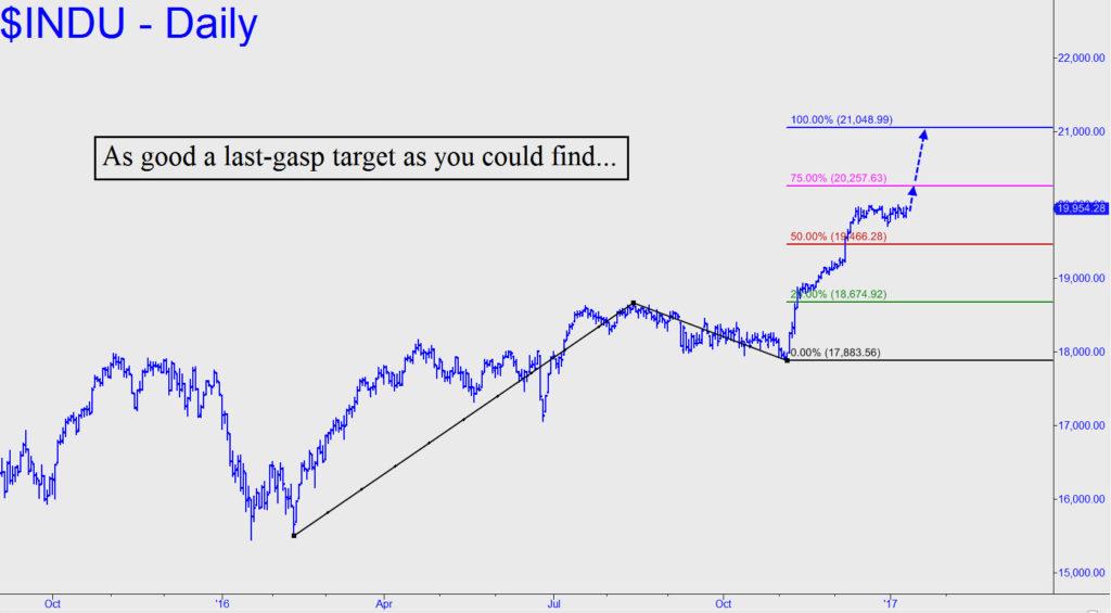 Last-gasp-target