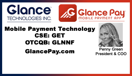 October 31, 2017 : Penny Green - Glance Announces Blockchain Strategy