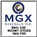 MGX Minerals Inc. logo