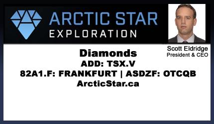 May 10, 2018 : Scott Eldridge - Introduction to Arctic Star Diamonds