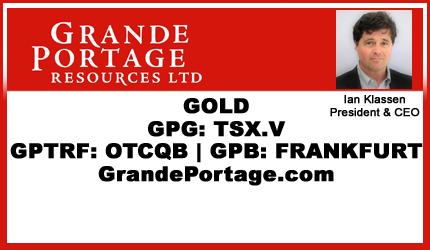 October 26, 2018 : Ian Klassen - Grande Portage's Herbert Gold Project