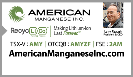 April 9, 2021 : Larry Reaugh - Manganese Project Optimization