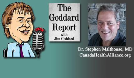 April 14, 2021 : Dr. Stephen Malthouse - Vaccine, Mask, Lockdown Concerns