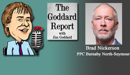 September 9, 2021 : Brad Nickerson - Covid, Vaccine Passports, Charter of Rights, Who Really Runs Canada